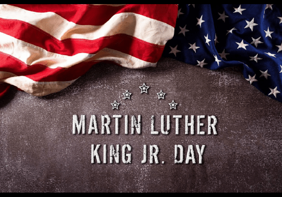 Frederick Water will be closed Monday, January 18, in observance of Martin Luther King Jr. Day.